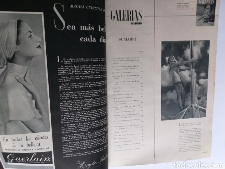 Catálogos publicitarios: Revista Galerías .Verano 1959 ,verano 1960 ,y otoño 1959 . Revistas historia patronaje moda . - Foto 9 - 262296670