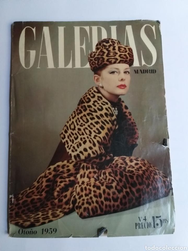 Catálogos publicitarios: Revista Galerías .Verano 1959 ,verano 1960 ,y otoño 1959 . Revistas historia patronaje moda . - Foto 11 - 262296670