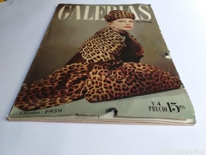 Catálogos publicitarios: Revista Galerías .Verano 1959 ,verano 1960 ,y otoño 1959 . Revistas historia patronaje moda . - Foto 12 - 262296670