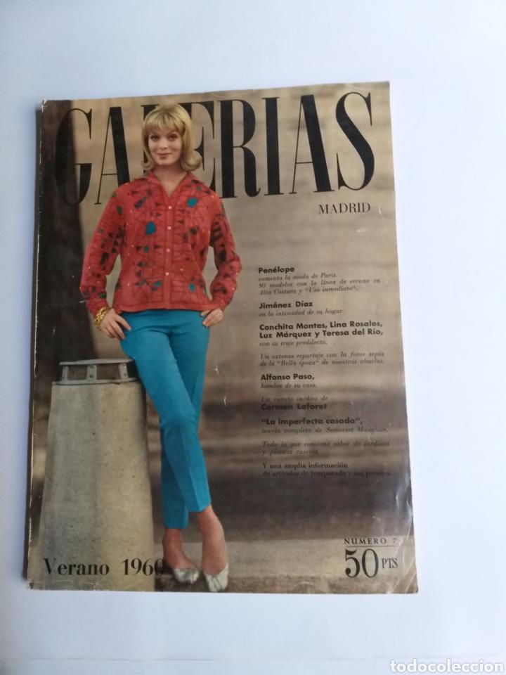 Catálogos publicitarios: Revista Galerías .Verano 1959 ,verano 1960 ,y otoño 1959 . Revistas historia patronaje moda . - Foto 16 - 262296670