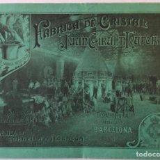 Catálogos publicitarios: FÁBRICA DE CRISTAL JUAN GIRALT LAPORTA. - [CATÁLOGO.]. Lote 263251240