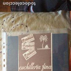 Catálogos publicitarios: PUBLICIDAD-HOJA RECORTE PRENSA-30X12CM-PALMERA-CUCHILLERIA FINA. Lote 263742515