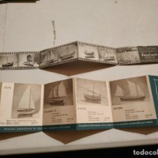 Catálogos publicitarios: CATALOGO CONSTRUCTO MINIATURA NAVAL. Lote 263760500