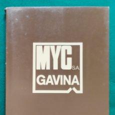 Catálogos publicitarios: MYC S.A. GAVINA CATÁLOGO DISEÑO SILLA MOBILIARIO 1975. Lote 265824644