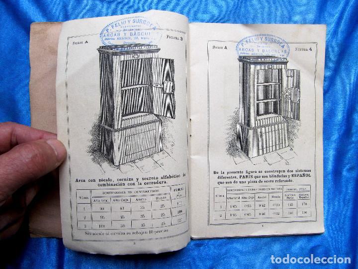 Catálogos publicitarios: CATÁLOGO DE ARTEFACTOS PARA EL COMERCIO INDUSTRIA Y AGRICULTURA. P. FELIU Y SURROCA. BARCELONA, S/F. - Foto 4 - 267336179