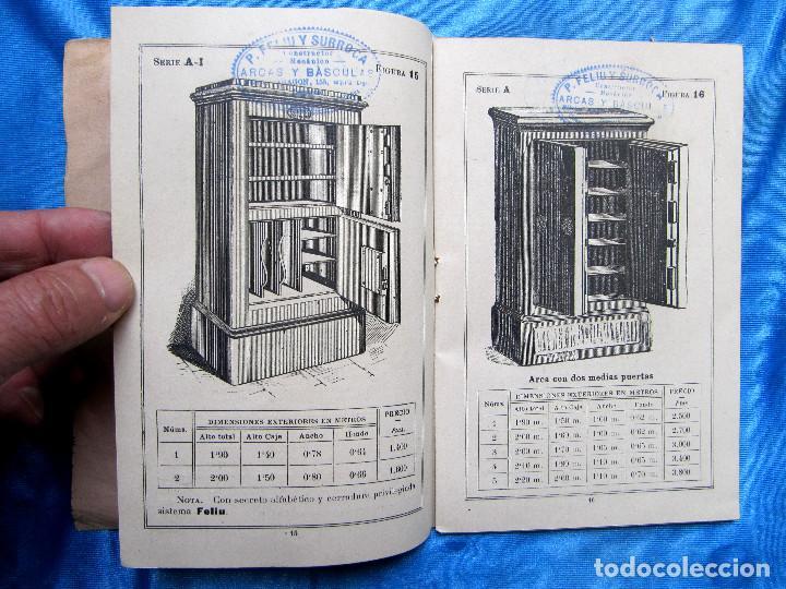 Catálogos publicitarios: CATÁLOGO DE ARTEFACTOS PARA EL COMERCIO INDUSTRIA Y AGRICULTURA. P. FELIU Y SURROCA. BARCELONA, S/F. - Foto 5 - 267336179