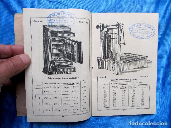Catálogos publicitarios: CATÁLOGO DE ARTEFACTOS PARA EL COMERCIO INDUSTRIA Y AGRICULTURA. P. FELIU Y SURROCA. BARCELONA, S/F. - Foto 6 - 267336179