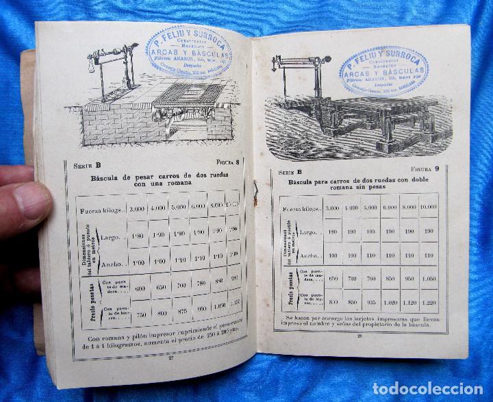 Catálogos publicitarios: CATÁLOGO DE ARTEFACTOS PARA EL COMERCIO INDUSTRIA Y AGRICULTURA. P. FELIU Y SURROCA. BARCELONA, S/F. - Foto 8 - 267336179
