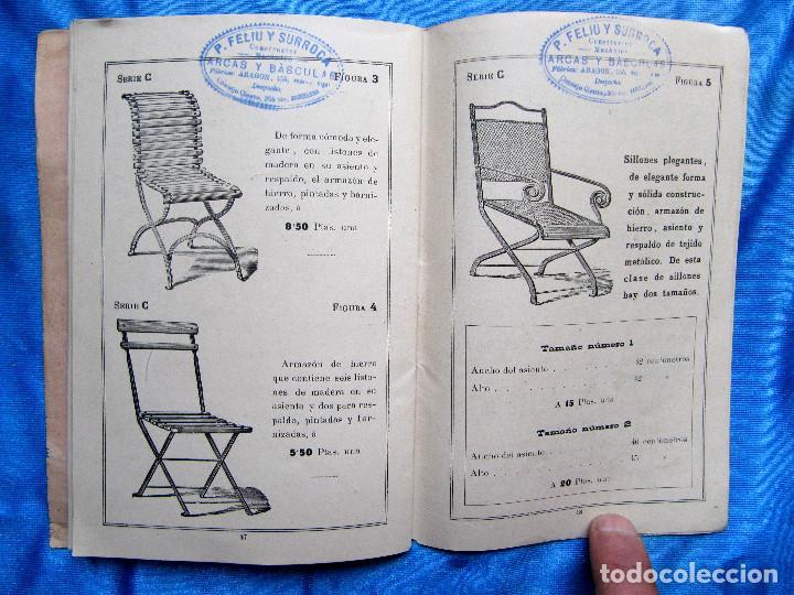 Catálogos publicitarios: CATÁLOGO DE ARTEFACTOS PARA EL COMERCIO INDUSTRIA Y AGRICULTURA. P. FELIU Y SURROCA. BARCELONA, S/F. - Foto 12 - 267336179