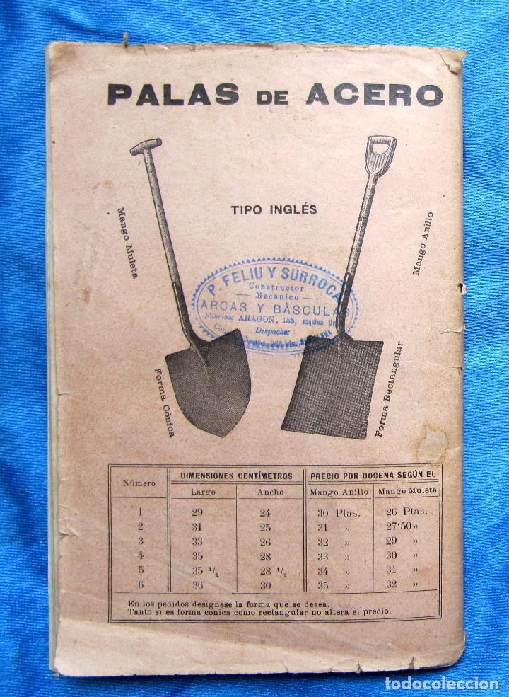 Catálogos publicitarios: CATÁLOGO DE ARTEFACTOS PARA EL COMERCIO INDUSTRIA Y AGRICULTURA. P. FELIU Y SURROCA. BARCELONA, S/F. - Foto 15 - 267336179