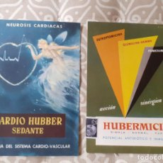 Catálogos publicitarios: TARJETA PUBLICITARIA FARMACIA HUBBER. Lote 267416794