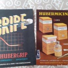Catálogos publicitarios: TARJETA PUBLICITARIA FARMACIA HUBBER. Lote 267416809