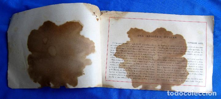 Catálogos publicitarios: UNA INDUSTRIA SECULAR CHOCOLATES AMATLLER. POSTERIOR A 1923. - Foto 2 - 267622734