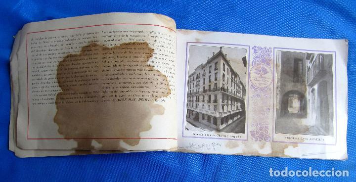 Catálogos publicitarios: UNA INDUSTRIA SECULAR CHOCOLATES AMATLLER. POSTERIOR A 1923. - Foto 5 - 267622734