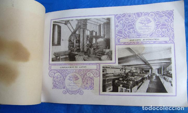 Catálogos publicitarios: UNA INDUSTRIA SECULAR CHOCOLATES AMATLLER. POSTERIOR A 1923. - Foto 8 - 267622734