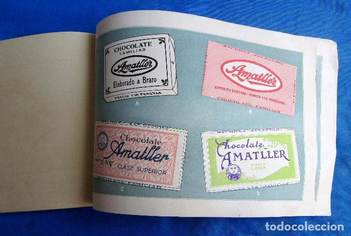 Catálogos publicitarios: UNA INDUSTRIA SECULAR CHOCOLATES AMATLLER. POSTERIOR A 1923. - Foto 11 - 267622734