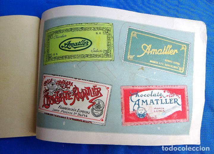Catálogos publicitarios: UNA INDUSTRIA SECULAR CHOCOLATES AMATLLER. POSTERIOR A 1923. - Foto 12 - 267622734