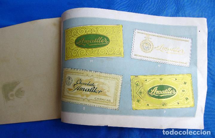 Catálogos publicitarios: UNA INDUSTRIA SECULAR CHOCOLATES AMATLLER. POSTERIOR A 1923. - Foto 13 - 267622734