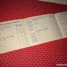 Catálogos publicitarios: FÁBRICA DE GUITARRAS, BANDURRIAS Y LAUDES - HIJOS DE VICENTE TATAY - VALENCIA - LISTA DE PRECIOS. Lote 267718364