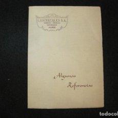 Catálogos publicitarios: LOSCERTALES S.A.-MUEBLES-BRONCES-DECORACION-MADRID-CATALOGO PUBLICIDAD-VER FOTOS-(K-3240). Lote 268423179
