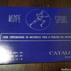 Catálogos publicitarios: CATÁLOGO MOYPE SPORT 1981. Lote 268906579