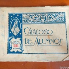 Catálogos publicitarios: CATÁLOGO DE ALUMNOS CURSO 1944 - 1945 COLEGIO JESUITAS DE INDAUCHU (BILBAO). Lote 268956339