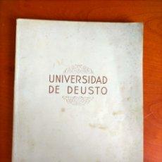 Catálogos publicitarios: UNIVERSIDAD DE DEUSTO. MEMORIA ACADEMICA DEL CURSO ESCOLAR 1947 - 48 BILBAO. Lote 268956639