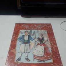 Catálogos publicitarios: CAJA PUBLICITARIA FIESTAS DE PRIMAVERA MURCIA 2008 PRECINTADA. Lote 269061863