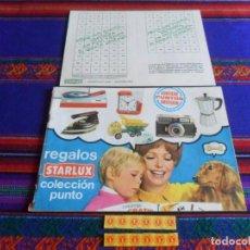 Catálogos publicitarios: CON 12 PUNTOS Y CARTILLA, CATÁLOGO 1969 REGALOS STARLUX COLECCIÓN PUNTO. FOTOS DE TODO.. Lote 270142063