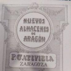 Catálogos publicitários: ZARAGOZA PUBLICIDAD NUEVOS ALMACENES DE. Lote 270675298