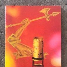 Catalogues publicitaires: CATÁLOGO PUBLICIDAD DE COGNAC HENNESSY - AÑOS 70/80. Lote 272444903