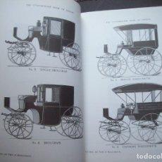 Catalogues publicitaires: CONSTRUCTOR DE CARRUAJES. LIBRO DE DISEÑO. COACH BUILDER´S. BOOK OF DESIGN. FACSIMIL.. Lote 276359598