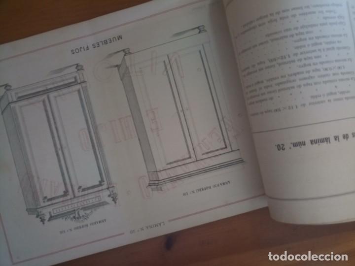 Catálogos publicitarios: Antiguo catálogo muebles Vitoria Leonard e hijo - Foto 7 - 277478758