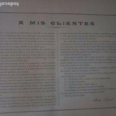 Catálogos publicitarios: ANTIGUO CATÁLOGO MUEBLES VITORIA LEONARD E HIJO. Lote 277479008