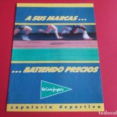 Catalogues publicitaires: CATALOGO EL CORTE INGLES AÑO 1989 ZAPATILLAS COMO KARHU,NIKE,NEW BALANCE,REEBOK,KELME,ADIDAS.... Lote 278839998
