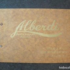 Catálogos publicitarios: ALBERDI-BARCELONA-ORGANOS ARMONIUMS PIANOS-CATALOGO PUBLICIDAD MUSICA-VER FOTOS-(K-4057). Lote 285297643