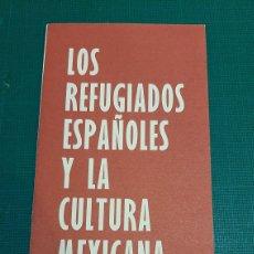 Catálogos publicitarios: MATASELLO EMSERPUSA CATALOGO EMBAJADA MÉXICO RESIDENCIA ESTUDIANTES ENCUENTRO REFUGIADOS. Lote 287756738