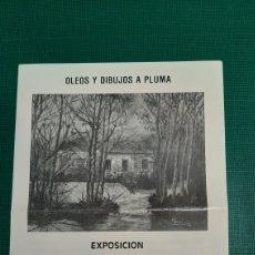 Catálogos publicitarios: CATALOGO MARY GUEVARA OLEOS Y DIBUJOS BANCO GALLEGO LUGO. Lote 287763933