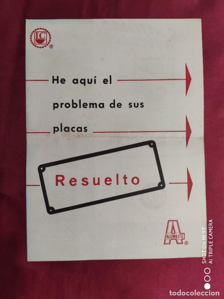 Catálogos publicitarios: CATALOGO ORIGINAL. PRIMERA FABRICA DE PLACAS Y ARTICULOS DE PROPAGANDA. ALVENANCIO LÓPEZ CEBALLOS - Foto 2 - 288579068