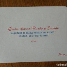 Catálogos publicitarios: ANTIGUA CALENDARIO MUNDIAL FUTBOL MEXICO 82.EMILIO GARCIA RUEDA COPADO.CLASES PASIVAS.JAEN. Lote 288915963