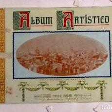Catálogos publicitarios: 1920 ALBUM ARTÍSTICO DE VALENCIA CON PUBLICIDAD DE FCA. DE GORRA LA ESPECIAL. Lote 289794873