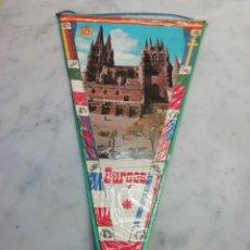 Catálogos publicitarios: BANDERÍN DE BURGOS. Lote 289894568