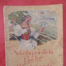 Catálogos publicitarios: FOLLETO PUBLICITARIO PRODUCTOS LA LECHERA, MUY ANTIGUO, PUBLICITANDO EN CUBA. Lote 294121818