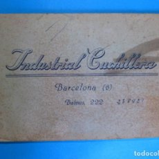 Catálogos publicitarios: CATÁLOGO INDUSTRIAL CUCHILLERA. NO HABLA DE CUCHILLOS, SÍ DE MESAS DE MADERA Y SILLAS PLEGABLES, S/F. Lote 295207788