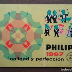 Cataloghi pubblicitari: PHILIPS CATÁLOGO TOCADISCOS RADIO TELEVISOR 1967. Lote 295485333