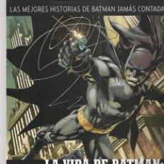 Catálogos publicitarios: CATÁLOGO PRESENTACIÓN DE LA OBRA: LA VIDA DE BATMAN: DE PRINCIPIO A FIN. DC / SALVAT.(P/C51). Lote 295683438