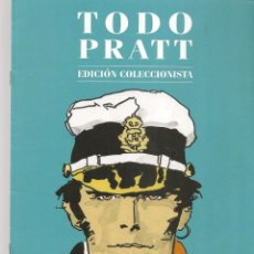 Catálogos publicitarios: CATÁLOGO PRESENTACIÓN DE LA OBRA: TODO PRATT. EDICIÓN COLECCIONISTA. PLANETA. (P/C51). Lote 295684318