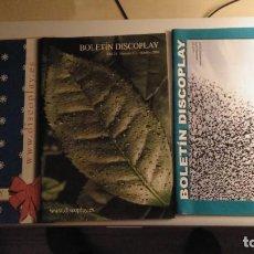 Catálogos publicitarios: LOTE DE 3 REVISTAS DISCOPLAY (AÑO 2006). Lote 297102408