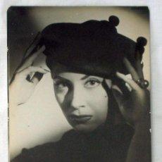 Cinema: FOTO ORIGINAL DE GYENES CON AUTÓGRAFO LINA ROSALES AÑOS 50. Lote 9509040