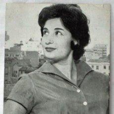 Cine: FOTO ORIGINAL CON AUTÓGRAFO Mª ELENA DOMENECH RADIO INTERCONTINENTAL AÑOS 50. Lote 9509118